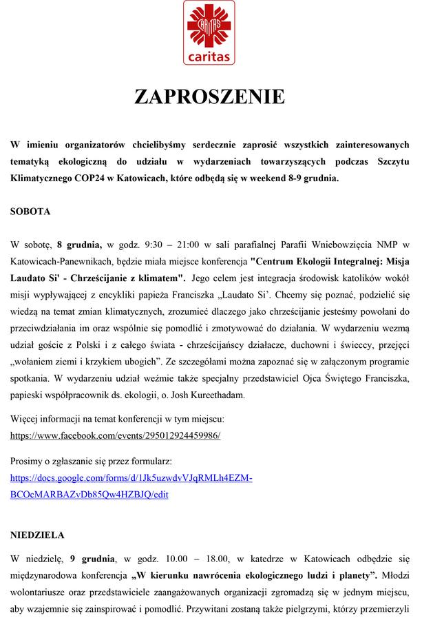 Cop24 Katowice 2018